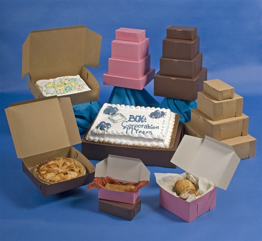 Recycled Content Cake Boxes