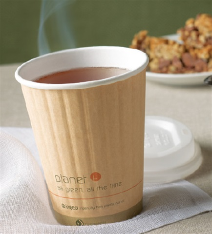 Compostable Cutlery, Hot Cups, Cold Cups, White Fiber Plates, and White Fiber Containers by Stalkmarket