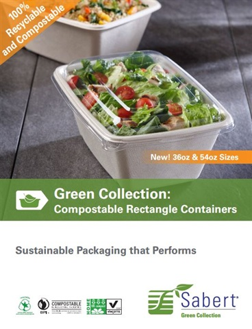 Pulp Takeout Containers by Sabert
