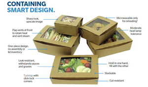 Bio-Plus View Food Containers
