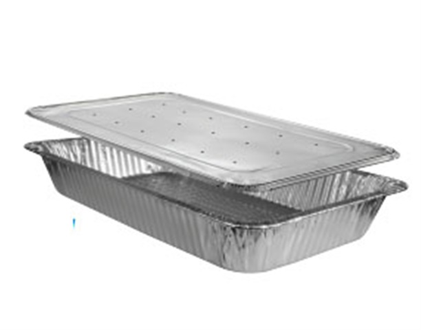 HFA Aluminum Vented Perforated Steam Table Lids