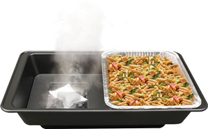 Speedheat flameless food warming system by Sterno