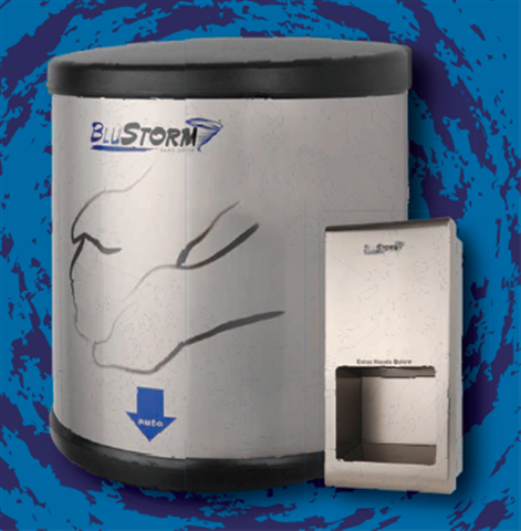 Blue Storm Hand Dryers