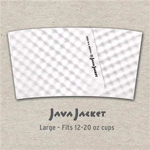 Java Jacket Kraft Coffee Sleeve 12-24 Oz Template