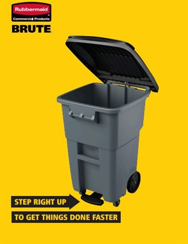 Brute Rollout Garbage Cans by Rubbermaid