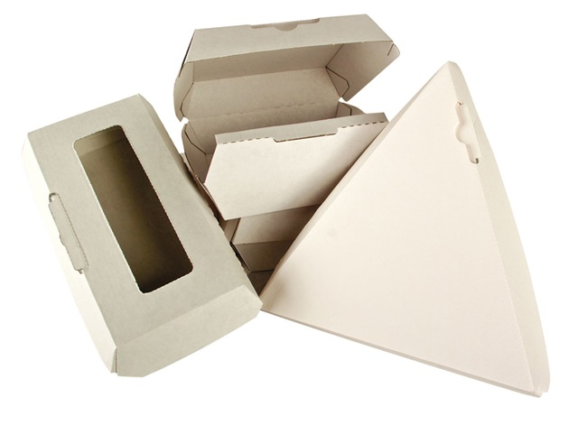 Corrugated Food Takeout Boxes | by Burrows Packaging