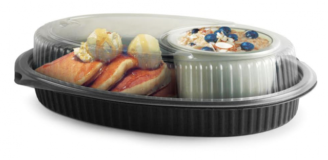 Embraceable™ Takeout Container Platter & Dome | by Anchor Packaging