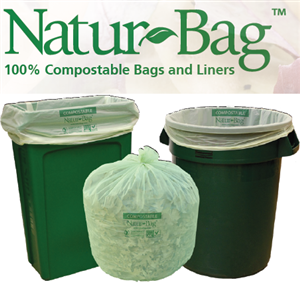 Compostable Garbage Bags from NaturBag