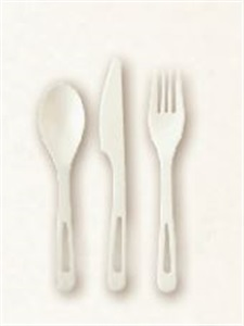 Compostable Plant Based Plastic Heavy Weight Cutlery by World Centric