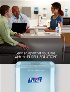 Purell Hand Sanitizing Stations to Combat Flu and Corona Virus