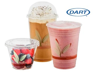 RPET Recycled PET Plastic Cold Drink Cups by Solo