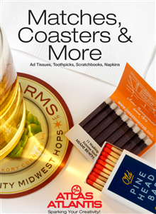 Matches, Coasters & More by Atlas-Atlantis