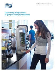Xpressnap Napkin Dispensers by Tork