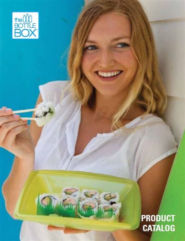 Post Consumer Recycled PET Takeout Food Containers by Bottlebox