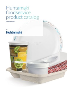 Pulp and Molded Fiber Trays, Bowls and Plates by Huhtamaki