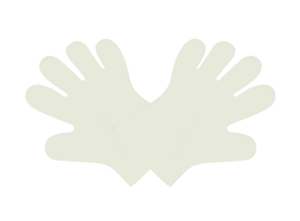 Eco-Friendly Compostable Gloves by Vegware