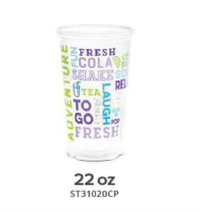 Ice Cold Polypro Drink Cups by Berry Plastics