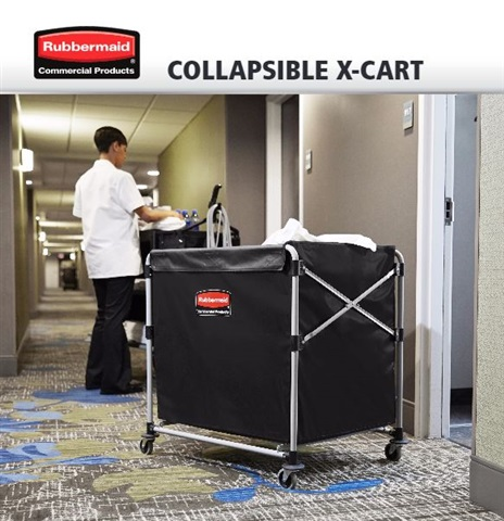 Collapsible X-Cart by Rubbermaid