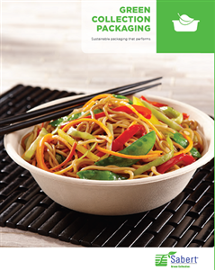 Eco Friendly Fiber Containers, Pulp Bowls, and Plant Fiber Catering Items by Sabert Terrapac